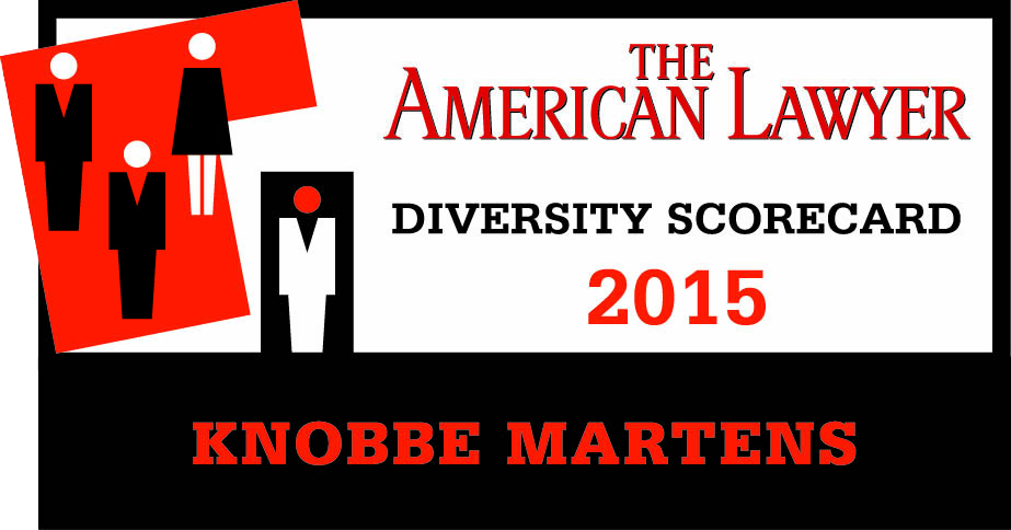 "Ranked Top 10 for Overall Diversity on American Lawyer ""Diversity Scorecard"""
