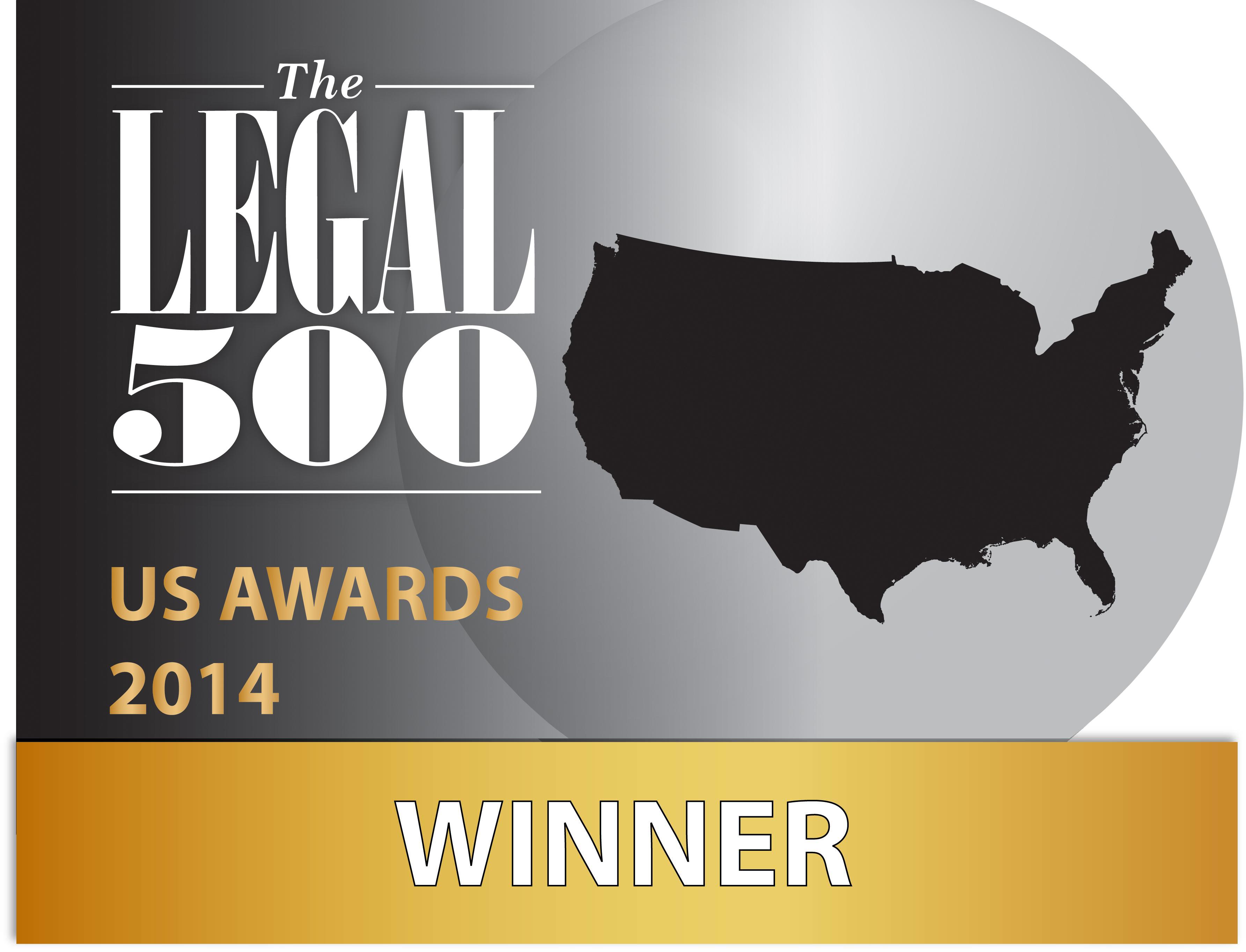 The Legal 500 US Awards 2014 Winner - Knobbe Martens