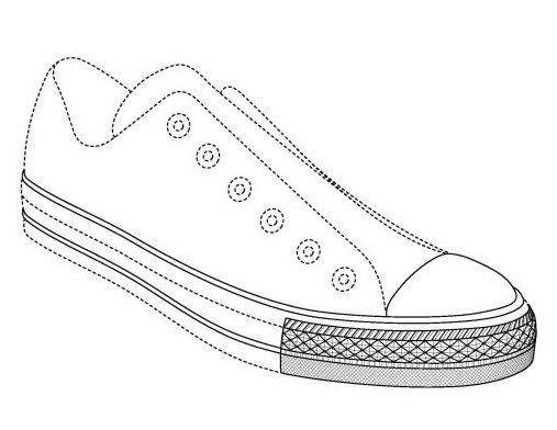 1588960 Consists Of A Three Dimensional Sole Shoe Design Overall However The Unenforceability Midsole Trade Dress Mark Can Be Seen As