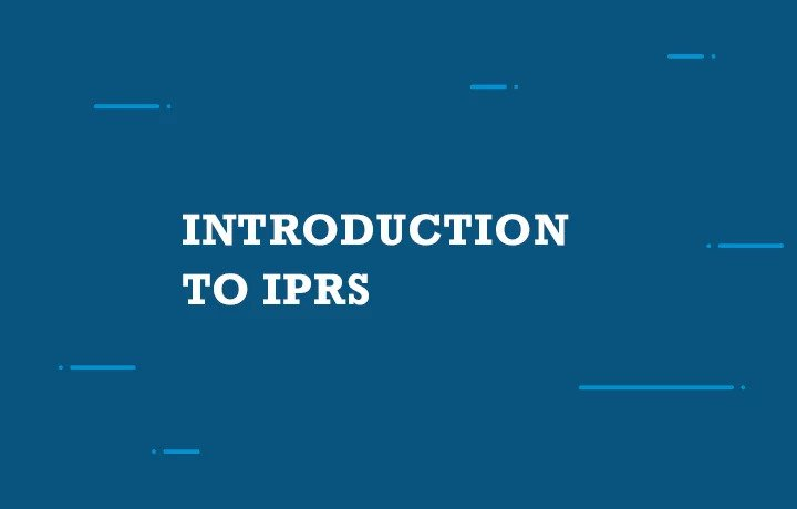 Introduction to IPRs